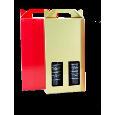 Double Wine Carry Box