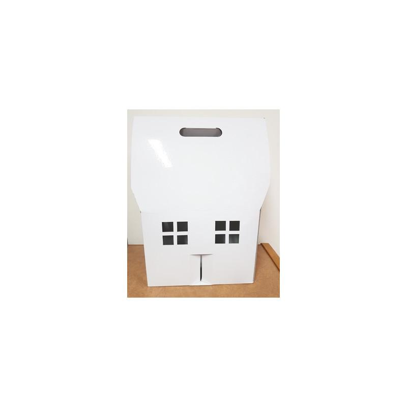 Tall Gable House Box
