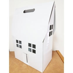 Tall Gable House Box