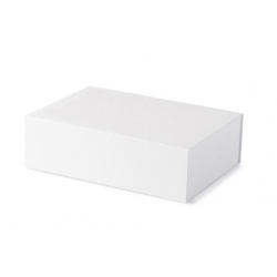 Rigid 1 piece box with magnetic closure