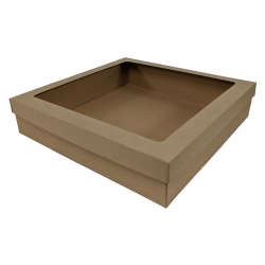 Eco Extra Large Square Box Set with Window BWECO402W