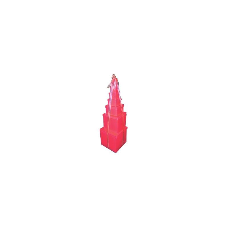 Pyramid of 8 Boxes (min 1)