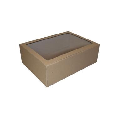 Eco 310mm Flip Box with Window BWECO310W