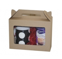 Eco Medium Hamper Carry Box with Window