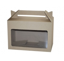 Eco Large Hamper Carry Box with Window