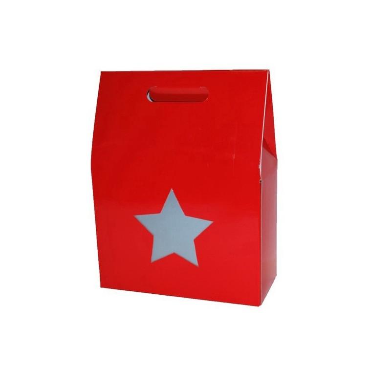Gable Box - Star Cut Out