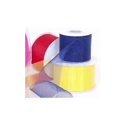 Organza Ribbon- 50mm W x 25m L