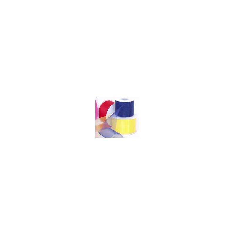 Organza Ribbon- 50mm W x 25m L
