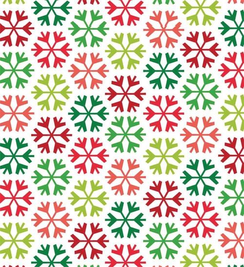 Coloured Snowflake